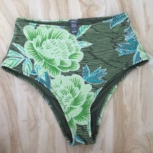 Aerie High Rise Swim Suit Bottoms (Size Small)